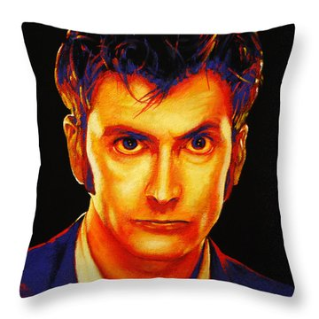 David Tennant Throw Pillow