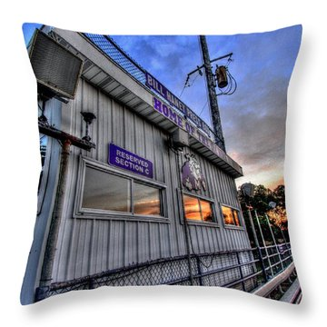 Dawg House Throw Pillow