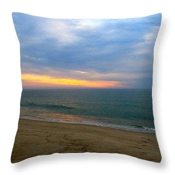 Dawn At Nauset Throw Pillow