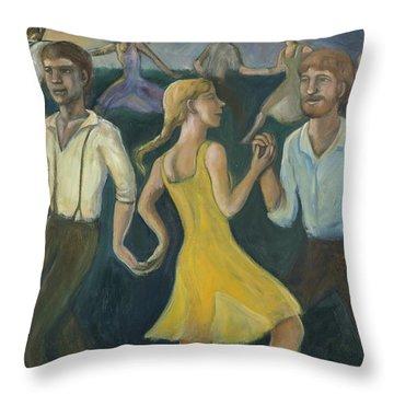 Dawn Dance Throw Pillow