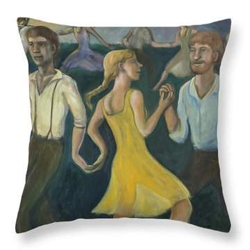 Dawn Dance Throw Pillow
