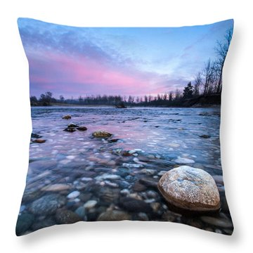 Dawn Throw Pillow by Davorin Mance