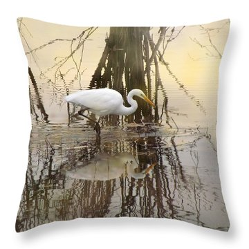 Dawn Hunter Throw Pillow