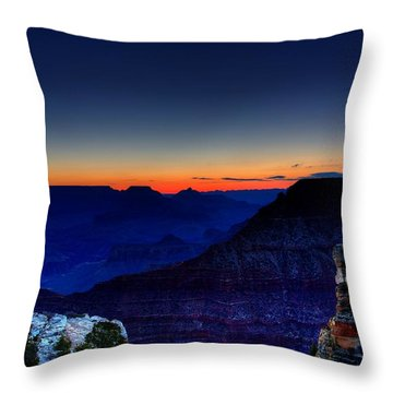Dawn Is Breaking Throw Pillow by Dave Files