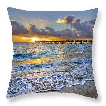 Dawn Lace Throw Pillow