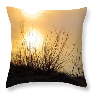 Throw Pillow featuring the photograph Dawn Of A New Day by Robyn King