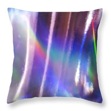 Throw Pillow featuring the photograph Dawn Of Creation by Martin Howard