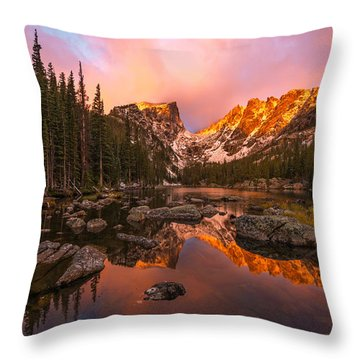 Throw Pillow featuring the photograph Dawn Of Dreams by Dustin  LeFevre