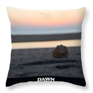 Dawn Throw Pillow by Robert Banach
