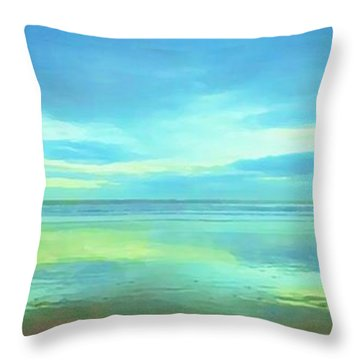 Dawning Glory Throw Pillow by Sophia Schmierer