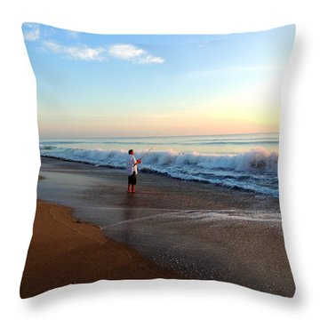 Dawning Of A New Day Throw Pillow