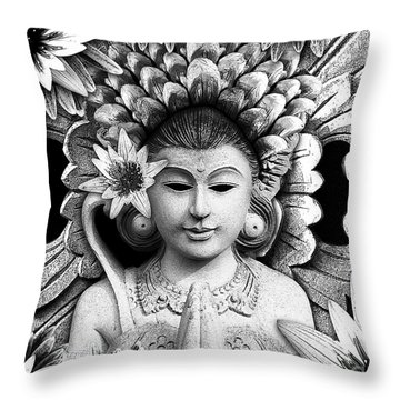 Dawning Of The Goddess Throw Pillow