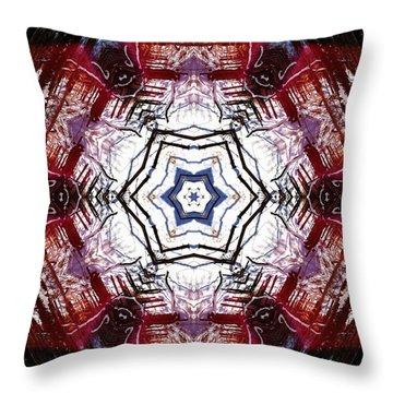 Dawning Sun Flare Throw Pillow