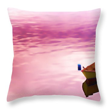 Dawns Light Reflected Throw Pillow by Jeff Folger