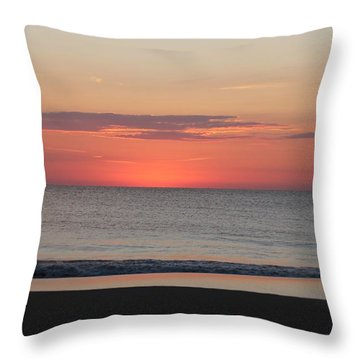 Throw Pillow featuring the photograph Dawn's Spreading Light by Robert Banach