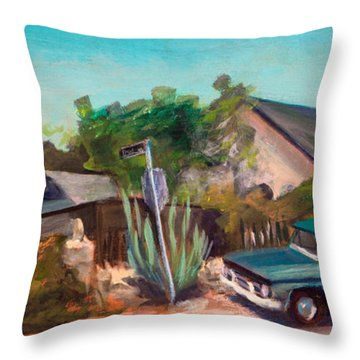 Day And Burker Throw Pillow