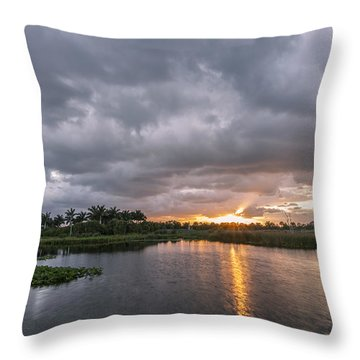 Day Beginning Throw Pillow