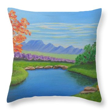 Day Dream Throw Pillow by Sheri Keith