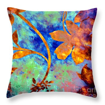 Day Glow Throw Pillow