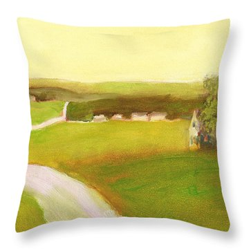 Day In The Country Throw Pillow