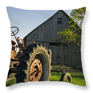 Day Is Done Throw Pillow by Edward Fielding