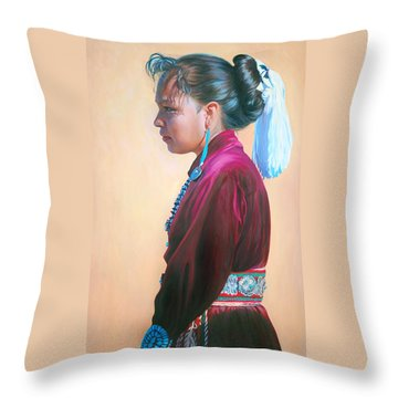 Day Of Honor Throw Pillow
