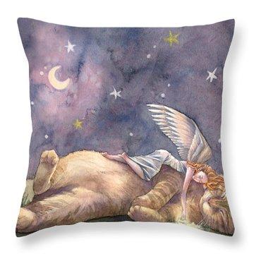 Day Of Joy Throw Pillow by Sara Burrier