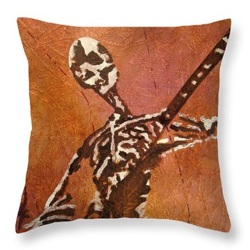 Day Of The Shred Throw Pillow by Stuart Engel