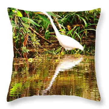Day Stalker Throw Pillow