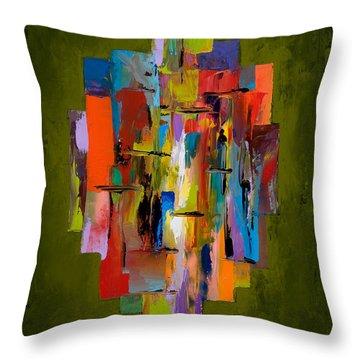 Daybreak Throw Pillow by Larry Martin