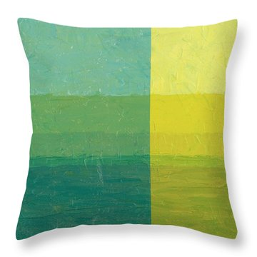 Daybreak Throw Pillow by Michelle Calkins