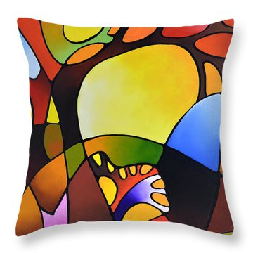 Daydream Canvas Three Throw Pillow