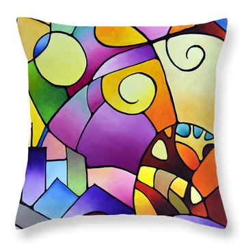 Daydream Canvas Two Throw Pillow