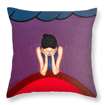 Daydreamer Throw Pillow by Patrick J Murphy