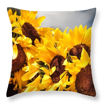 Daydreaming Gals Throw Pillow