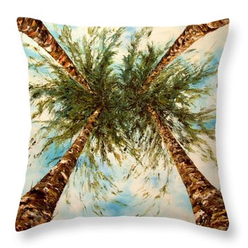 Daydreaming Throw Pillow by Jean Walker
