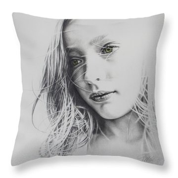 Daydreaming Throw Pillow by Tracy Male