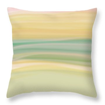 Daydreams 1 Throw Pillow by Bonnie Bruno