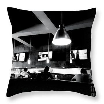 Throw Pillow featuring the photograph Dayhawks by Amar Sheow
