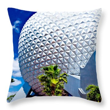 Daylight Dome Throw Pillow