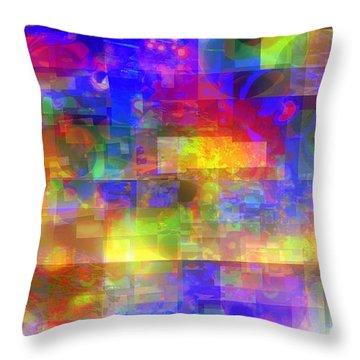 Daylight Throw Pillow by Pauli Hyvonen