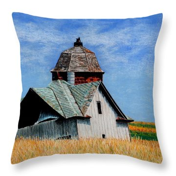Days Gone By Throw Pillow by Kimberly Shinn
