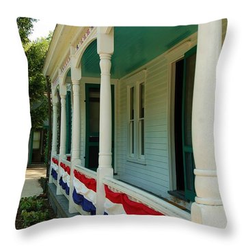 Days Gone By Throw Pillow by Patrick Shupert