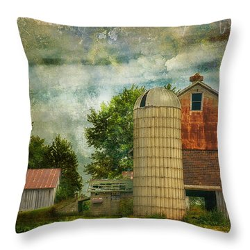 Days Gone By Throw Pillow by Tricia Marchlik
