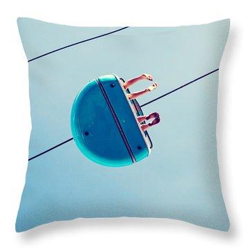 Days Like This - Santa Cruz Throw Pillow