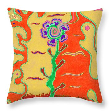 Day's Passion V18 Throw Pillow