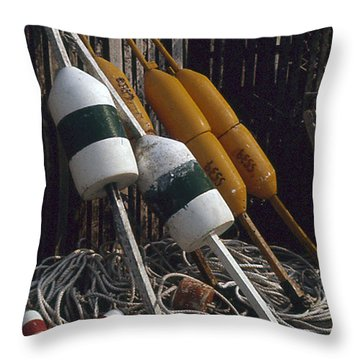 Day's Work Done Throw Pillow