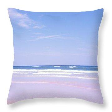 Daytona Beach Fl Life Guard  Throw Pillow