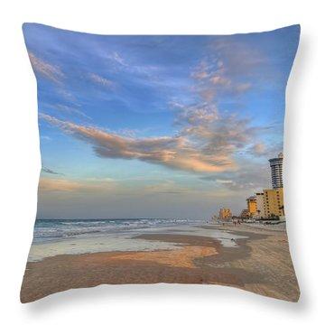 Daytona Beach Shores Throw Pillow