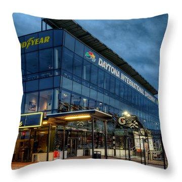 Daytona Club Throw Pillow